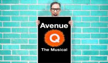 Avenue Q the Musical Puppets - Wall Art Print Poster   - Musical Poster Geekery